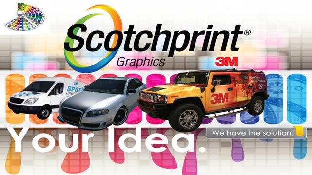 Облицовка на автомобили с фолио Scotchcal