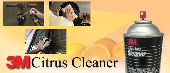 Портокалов спрей за почистване на всякакви повърхности, 3M Citrus Cleaner
