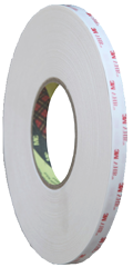 3M 9536 White PE Foam Double Sided Tape