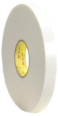 3M Double Coated Polyethylene Foam Tape 9546, White