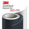 3M Blockout Film 3635-22B - черно блокаут фолио