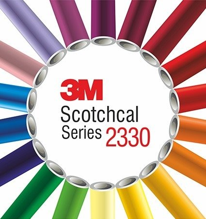 3M 2330 Scotchcal Translucent lightbox film