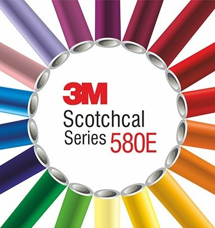 3M 580E Scotchlite Reflective Film