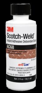 Разлепваща течност 3M Scotch Weld Adhesive Debonder AC68