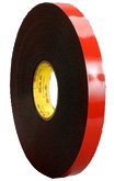 3M VHB 5952 Acrylic Foam tape, black