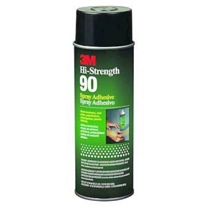 3M Spray 90 - aerosol adhesive for high-strength bonding