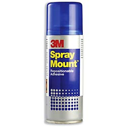 3M Spray Mount - aerosol adhesive for designers