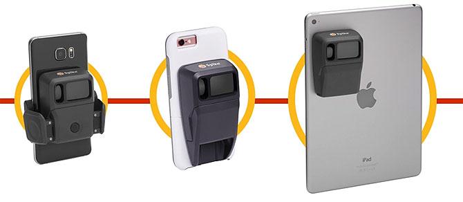 Spike лазерно устройство за измерване, за телефони и таблети