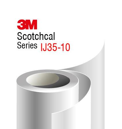 3М Scotchcal IJ35-10 фолио за печат, бял гланц