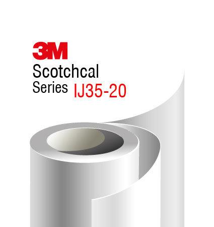 3М Scotchcal IJ35-20 фолио за печат, бял мат