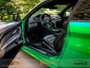 Автомобил нa tuning.bg с ексклузивен цвят фолио 3M 1080