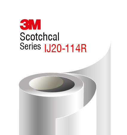3M Scotchcal IJ20-114R clear gloss overlaminate