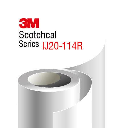 3M Scotchcal IJ20-114R ламинат с гланцово покритие