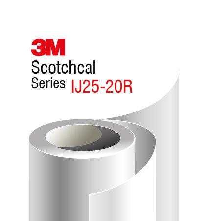 3M Scotchcal IJ25-20R фолио за печат, бял мат