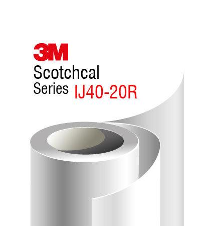 3M Scotchcal IJ40-20R, бяло фолио с мат финиш