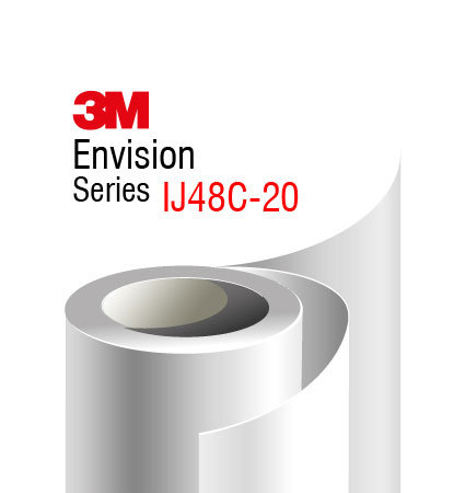 3M Envision IJ48C-20 бял мат фолио за печат