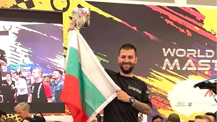 Поздравяваме шампиона по инсталиране на фолио Иван Тенчев