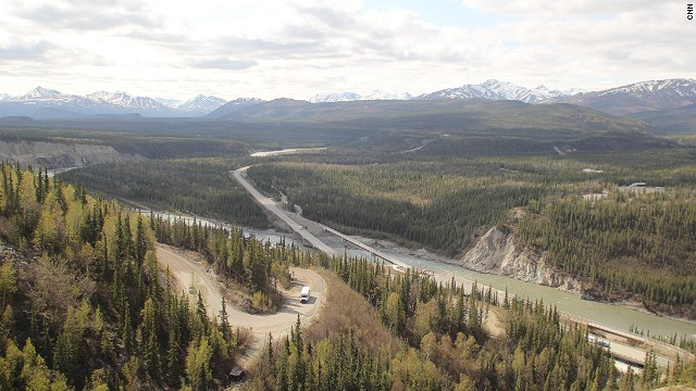 Grande Drive в Аляска