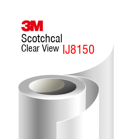 3M Scotchcal Clear View 8150 Window Film