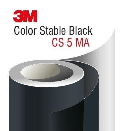 3M Automotive Window Film CS5 Color Stable Black – very dark tint color