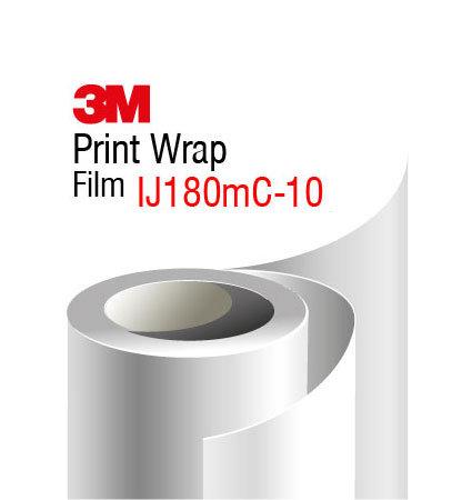 3M Print Wrap IJ180mC-10 alba cu aspect lucios