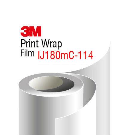 3M Print Wrap IJ180mC-114 transparenta, aspect lucios
