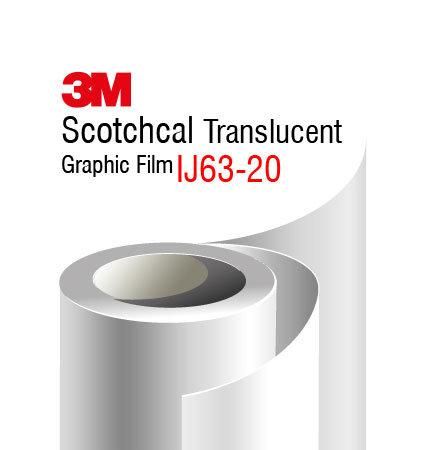 Полимерно транслуцентно фолио за печат 3M IJ63-20 Translucent Film