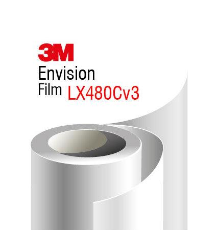 3M Envision LX480Cv3 бял гланц не PVC фолио