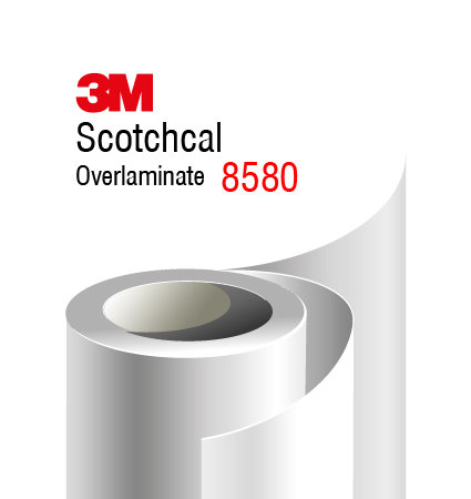 3M Scotchcal Gloss Overlaminate 8580