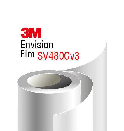 3M Envision SV480Cv3 - не PVC фолио за латексови принтери