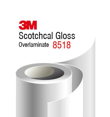 3M Scotchcal Overlaminate 8518G laminare cu aspect lucios