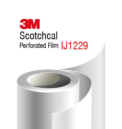 3M Scothcal Perforated Film - IJ1229 - 3M перфo фолио