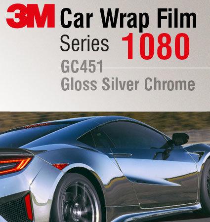 3M Car Wrap Film 1080 - folie cu efect de oglinda