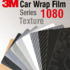 3M Car Wrap Film 1080 - texturata