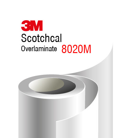 3M Scotchcal Overlaminate 8020M - мат ламинат