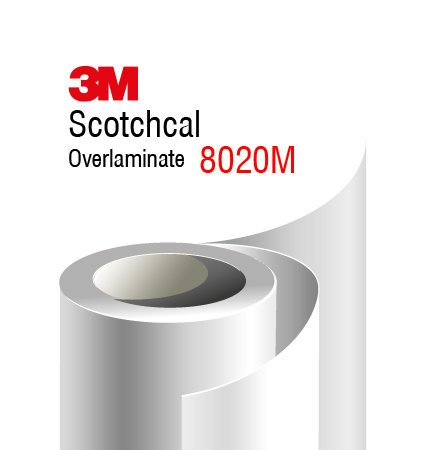 3M Scotchcal Overlaminate 8020M - matte finish
