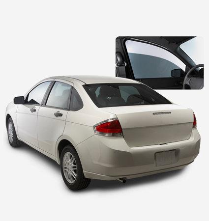 Стъкла на автомобил, облепени с 3M FX-ST 20