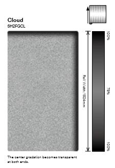 3M Fasara Cloud SH2FGCL gradient glass film