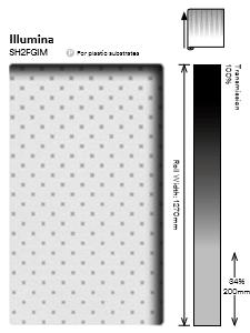 3M Fasara Illumina SH2FGIM - фолио на точки