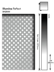 3M Fasara Ilumina Silver SH2SIIM - silver glass film