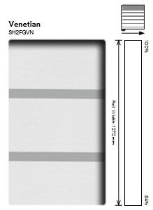 3M Fasara VENETIAN SH2FGVN хоризонтални линии