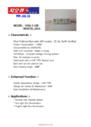 G.O.Q 3 LED 2835 white - product bulletin - PDF