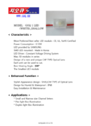 G.O.Q. 1 LED White Shallow - PDF