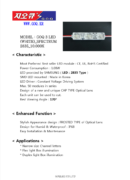 G.O.Q. LED 3 2835 Spectrum White 10000K - PDF