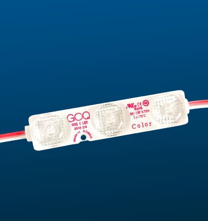 G.O.Q. 3 LED Spectrum цветни LED модули