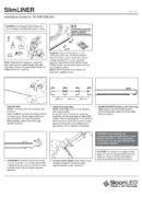 SlimLINER - ръководство за инсталаци