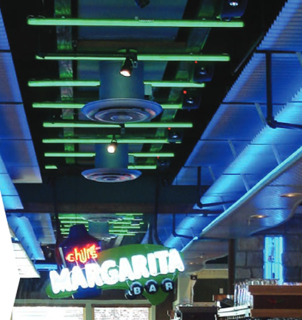 LEDStripe LED tubes for restaurants