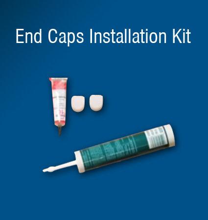 Enc caps installation kit for SloanLED LEDStripe