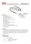 Mean Well LPV 150-12 150W - PDF