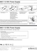SloanLED Power Supply 60W 60C1 PDF - ръководство за инсталация